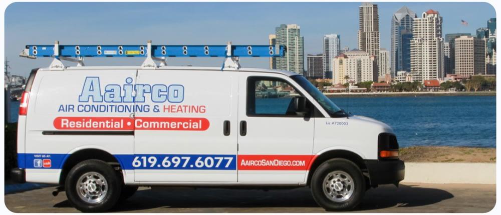 Aairco San Diego HVAC Work Vehicle